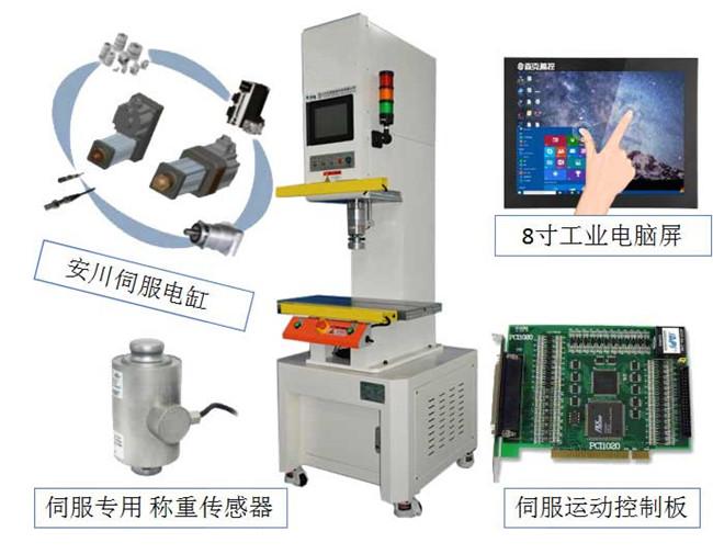 几种常见的伺服压力机控制系统